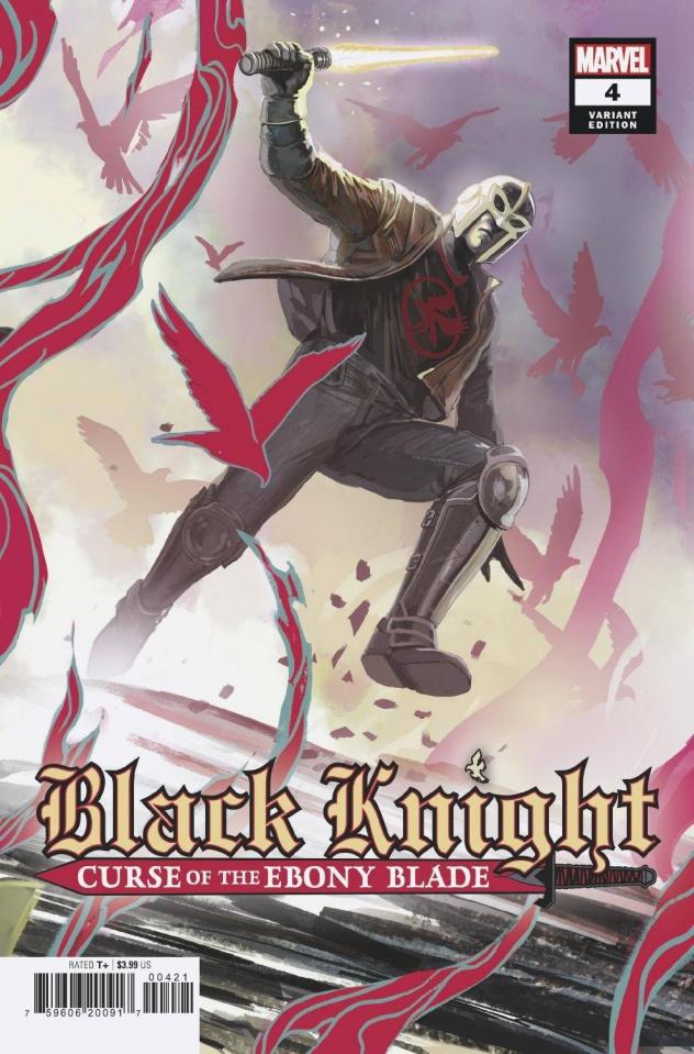 Black Knight: Curse of the Ebony Blade #4 (Hans Legend Cover)