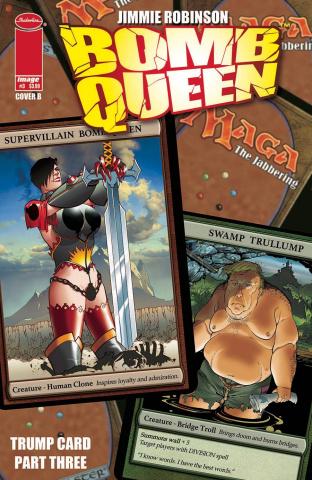 Bomb Queen: Trump Card #3 (Robinson Cover)