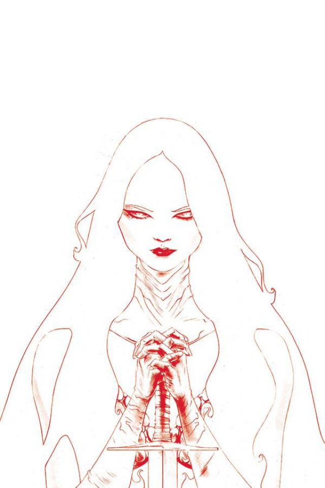 Red Sonja #21 (35 Copy Lee Tint Virgin Cover)