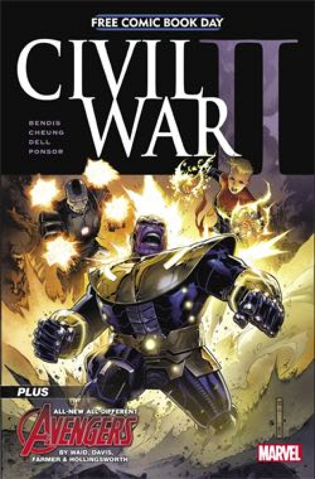 Civil War II #1 (FCBD 2016 Edition)