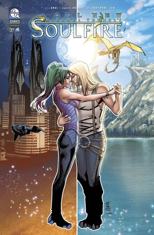All New Soulfire #4 (Cafaro Cover)