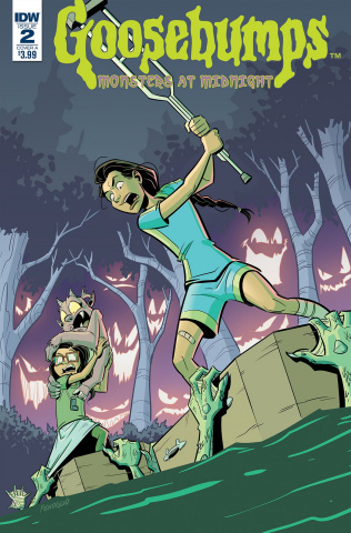 Goosebumps: Monsters At Midnight #2 (Fenoglio Cover)