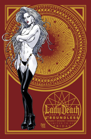 Lady Death #7 (San Diego Comicon Set)