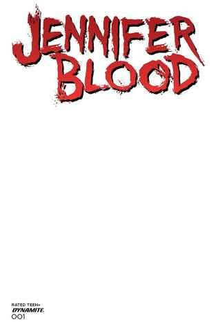 Jennifer Blood #1 (Blank Authentix Cover)