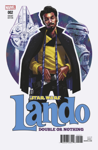 Star Wars: Lando - Double or Nothing #2 (Stewart Cover)