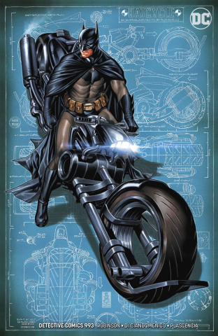 Detective Comics #993 (Variant Cover)