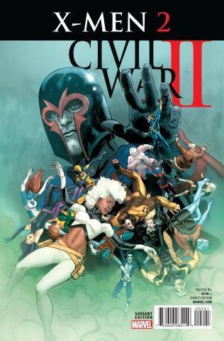Civil War II: X-Men #2 (Ibanez Cover)