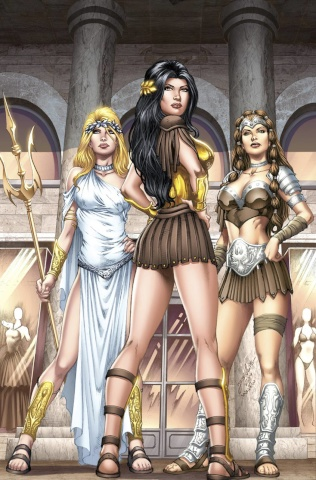 Grimm Fairy Tales: Goddess Inc. #2 (Luis Cover)