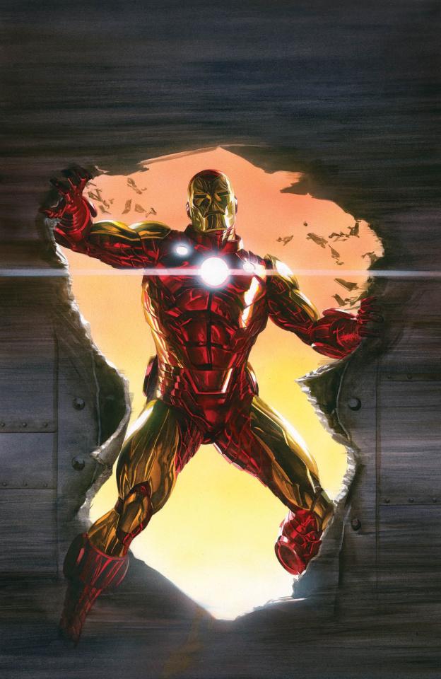 Invincible Iron Man #600 (Ross Virgin Cover)
