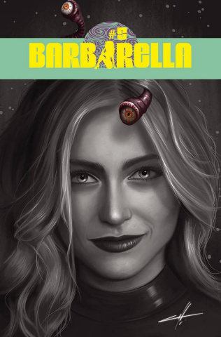 Barbarella #5 (20 Copy Cohen B&W Cover)