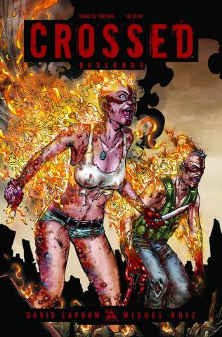 Crossed: Badlands #33 (Torture Cover)