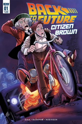 Back to the Future: Citizen Brown #1