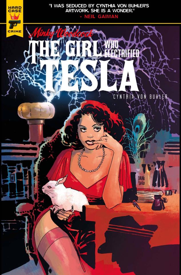 Minky Woodcock: The Girl Who Electrified Tesla #1 (Strips Cover)
