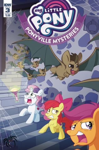 My Little Pony: Ponyville Mysteries #3 (Murphy Cover)