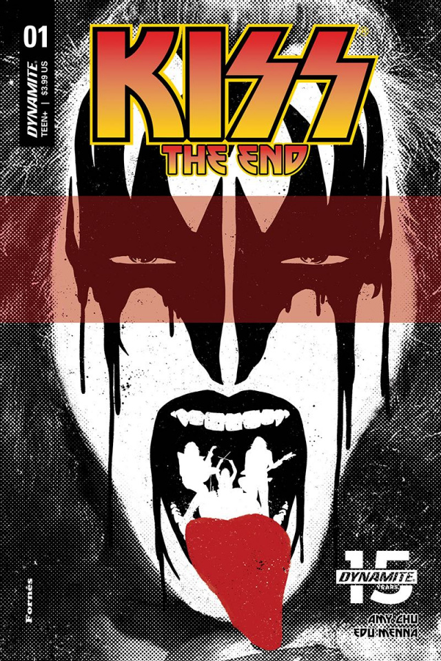 KISS: The End #1 (Fornes Cover)