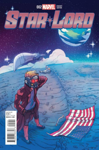 Star-Lord #2 (Carreon Cover)