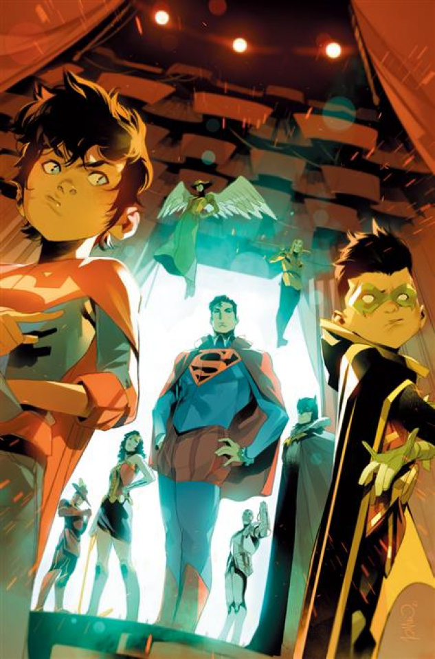 Challenge of the Super Sons #6 (Simone Di Meo Cover)
