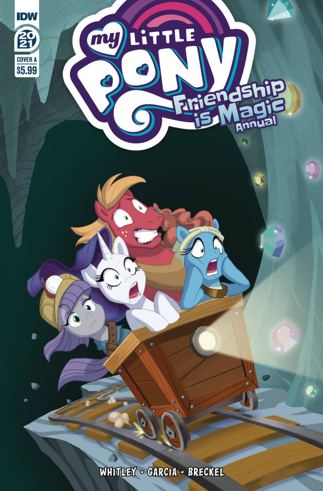 My Little Pony: Friendship Is Magic 2021 Annual (Brianna Cover)