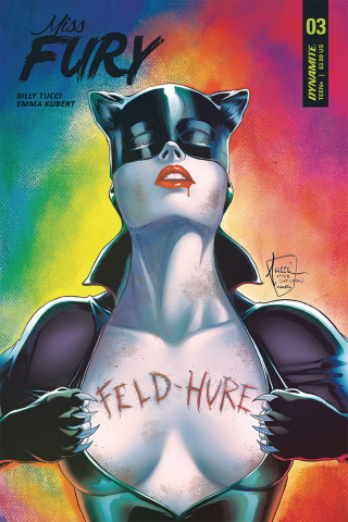 Miss Fury #3 (Tucci Cover)