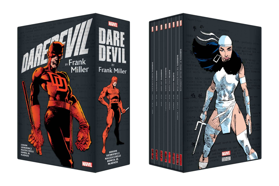 Daredevil by Frank Miller (Slipcase Box Set)