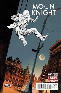 Moon Knight #7 (Shalvey Cover)
