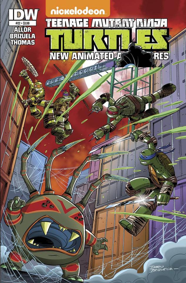 Teenage Mutant Ninja Turtles: New Animated Adventures #22