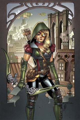 Grimm Fairy Tales: Steampunk #1 (Ortiz Cover)