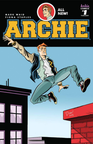Archie #1 (Haspiel Cover)