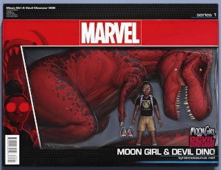 Moon Girl and Devil Dinosaur #8 (Action Figure Cover)