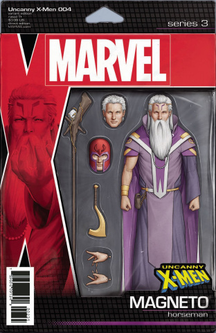 Uncanny X-Men #4 (Christopher Action Figure Cover)