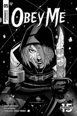 Obey Me #5 (15 Copy Herrera B&W Cover)