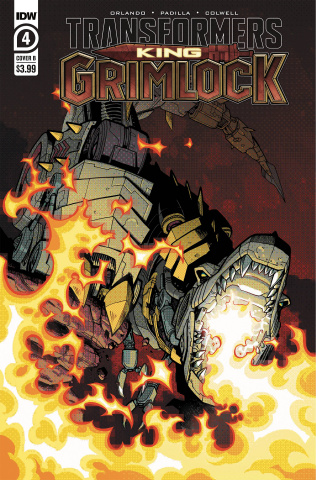 Transformers: King Grimlock #4 (Kyriazis Cover)