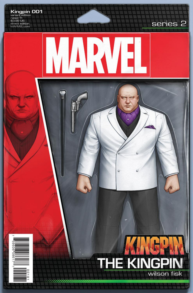 Kingpin #1 (Christopher Action Figure Cover)