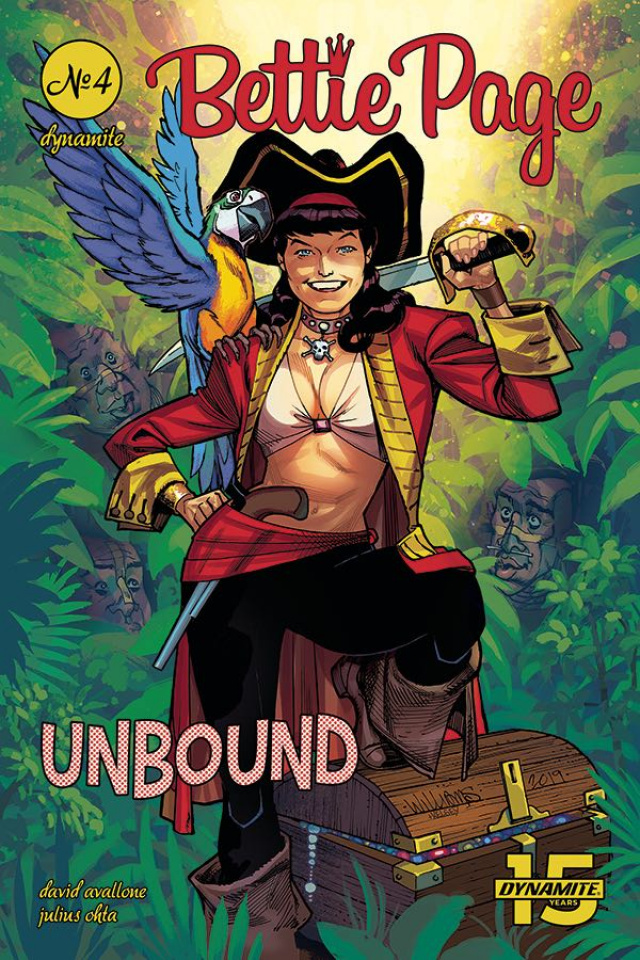 Bettie Page: Unbound #4 (Williams Cover)