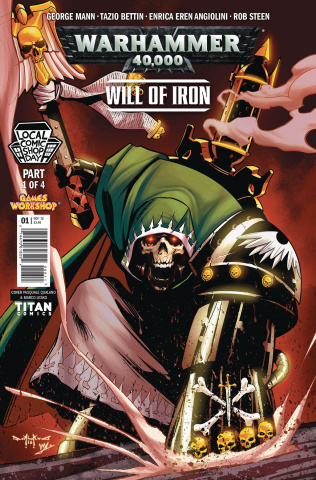 Warhammer 40,000: Will of Iron #1 (Local Comic Shop Day 2016 Cover)