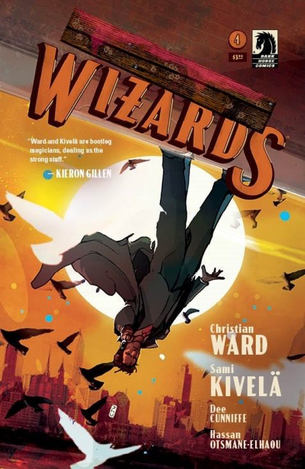 Tommy Gun Wizards #4 (Ward Cover)