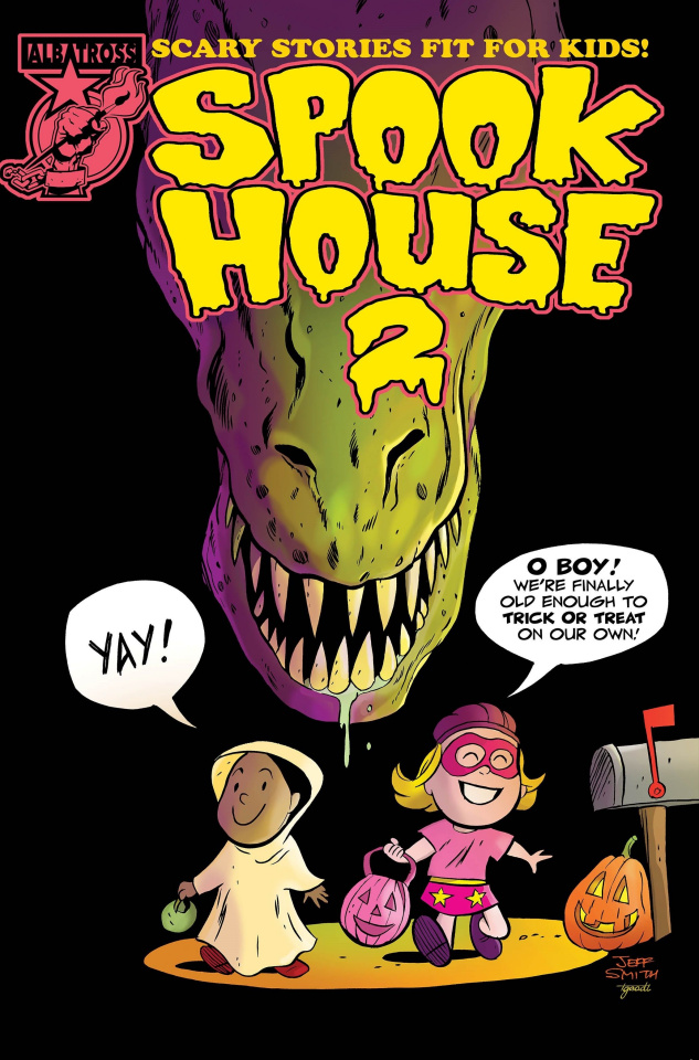 Spook House 2 #1 (Jeff Smith Cover)