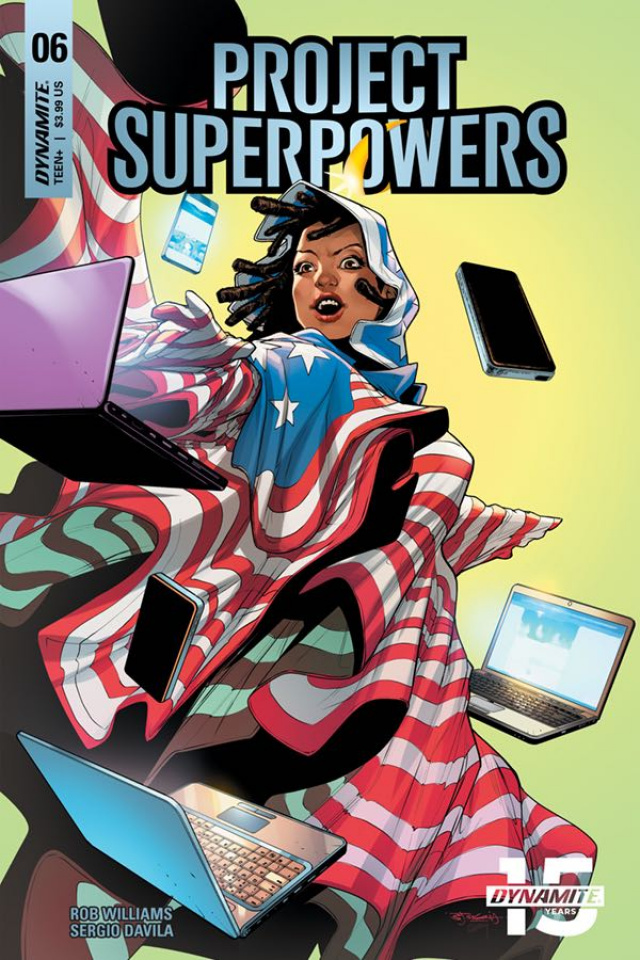 Project Superpowers #6 (Segovia Cover)