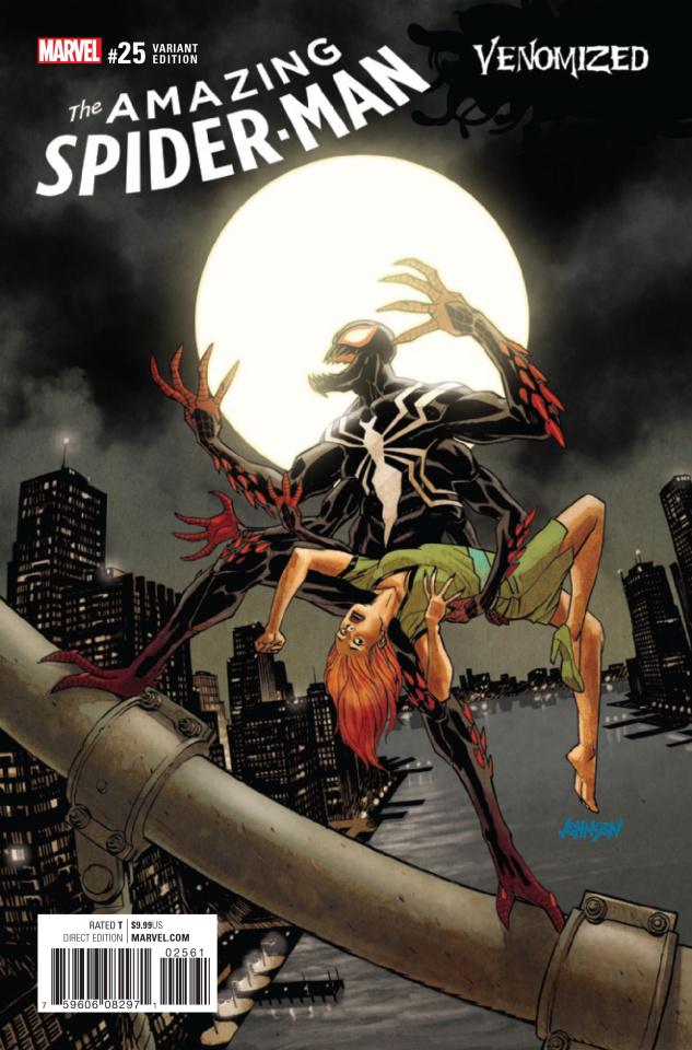 The Amazing Spider-Man #25 (Johnson Venomized Cover)