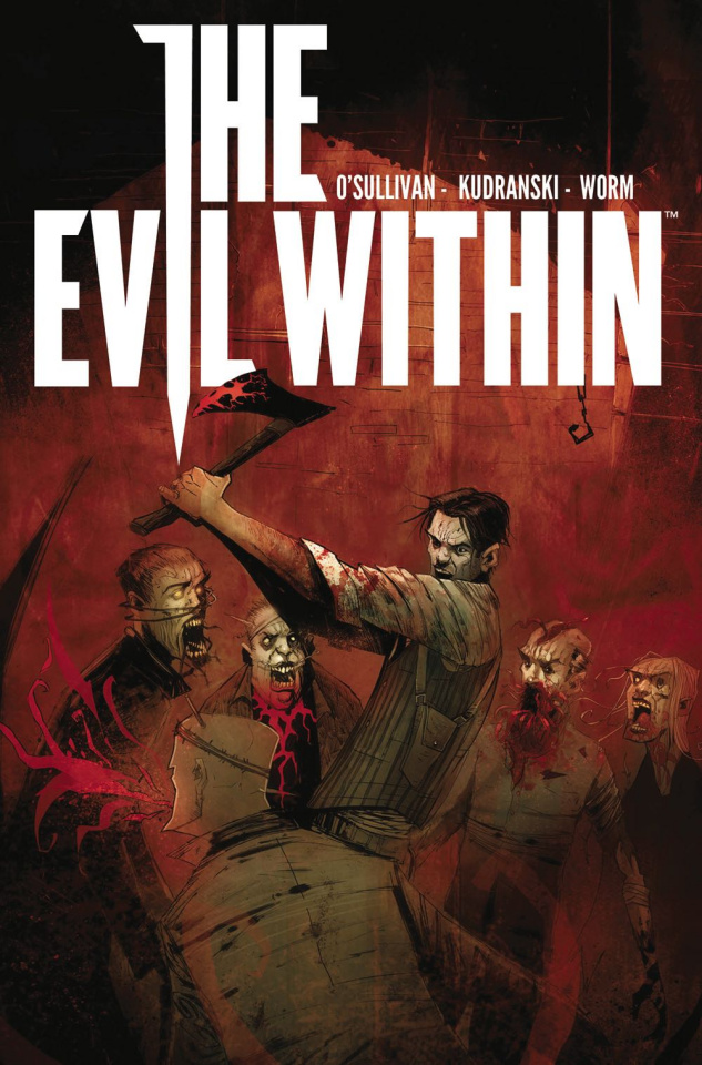 The Evil Within #1 (Wyrm Cover)