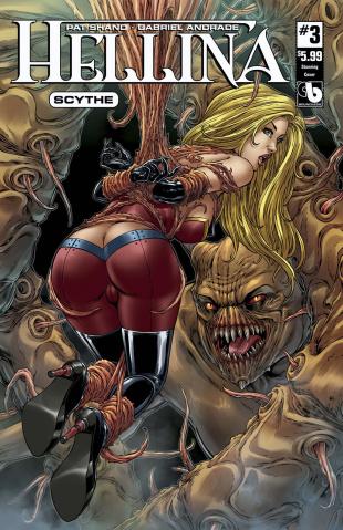 Hellina: Scythe #3 (Stunning Cover)