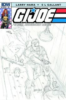 G.I. Joe: A Real American Hero #191 (10 Copy Cover)