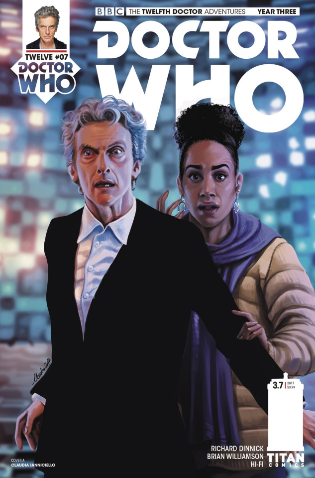Doctor Who: New Adventures with the Twelfth Doctor, Year Three #7 (Ianniciello Cover)