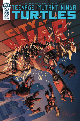 Teenage Mutant Ninja Turtles #95 (Wachter Cover)