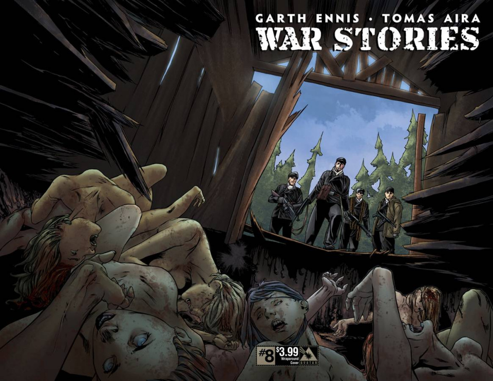 War Stories #8 (Wrap Cover)