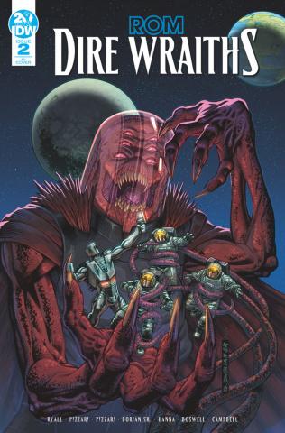 ROM: Dire Wraiths #2 (10 Copy Dorian & Buscema Cover)