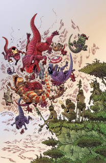 Secret Wars: Battleworld #3 (Stokoe Cover)