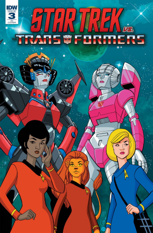 Star Trek vs. The Transformers #3 (10 Copy Levens Cover)