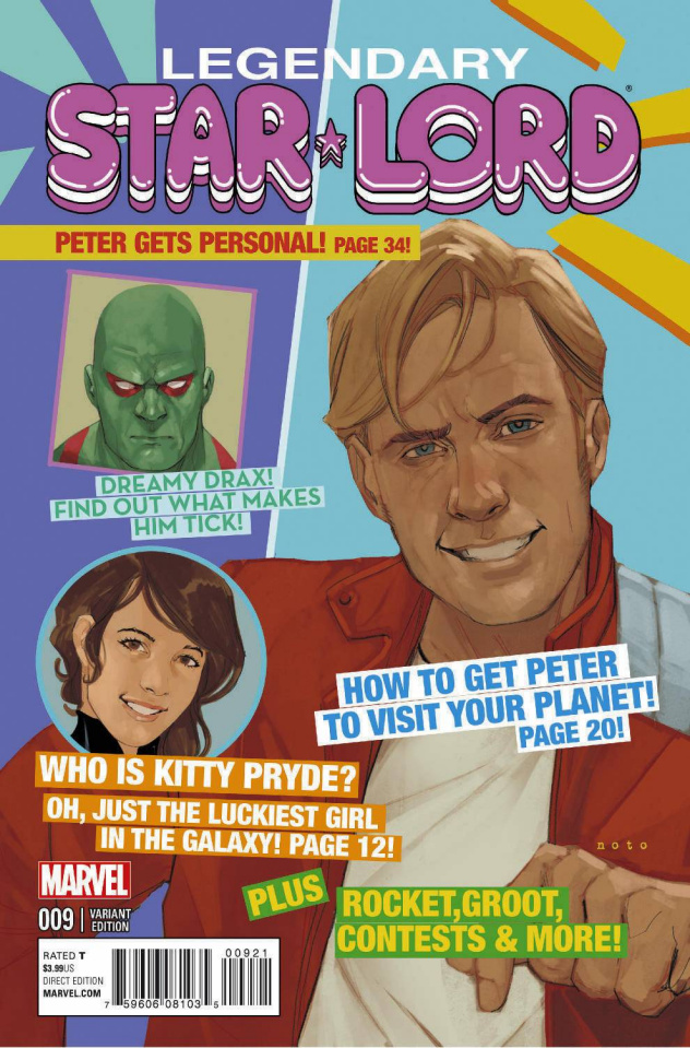 Legendary Star-Lord #9 (Noto Cover)