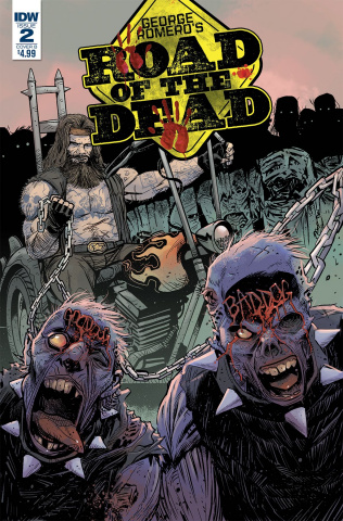 Road of the Dead: Highway to Hell #2 (Moss Cover)